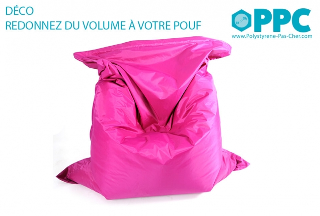 Billes de polystyrène : 50 litres