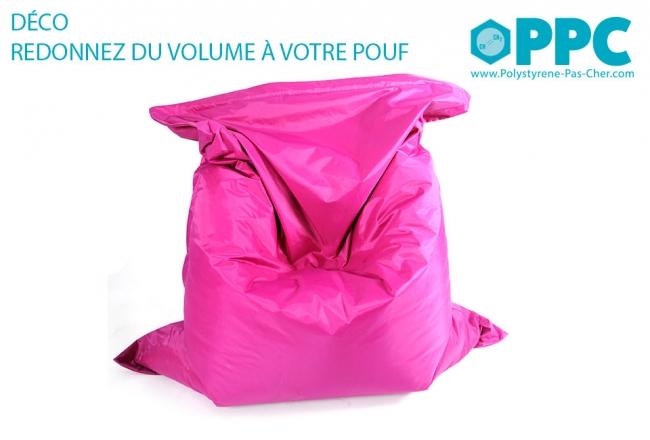 Billes de polystyrène : 400 litres