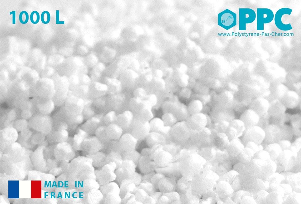 Billes de polystyrène : 1000 litres